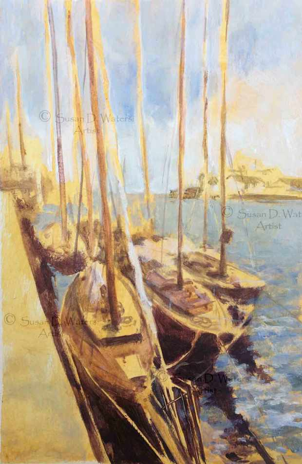 Harbour-Boats-II,-Susan-Duke-Waters