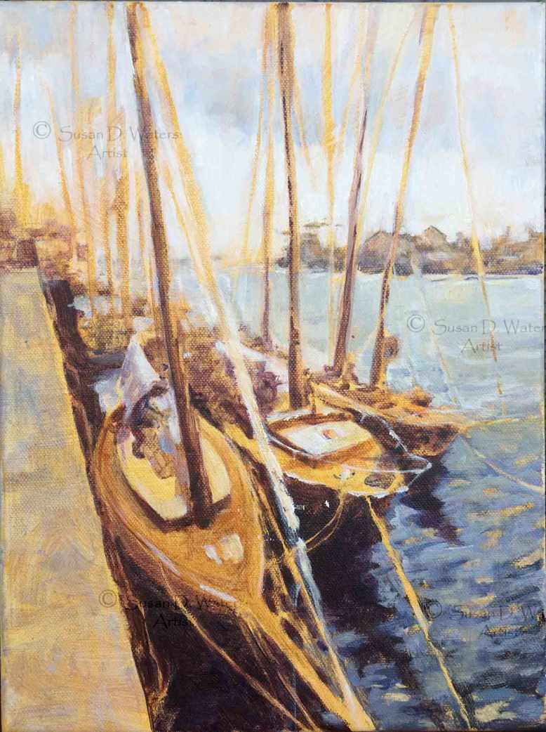 Harbour-Boats-III,-Susan-Duke-Waters
