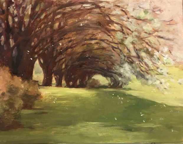 Bradford-Pear-Tree-Line,-Susan-Duke-Waters
