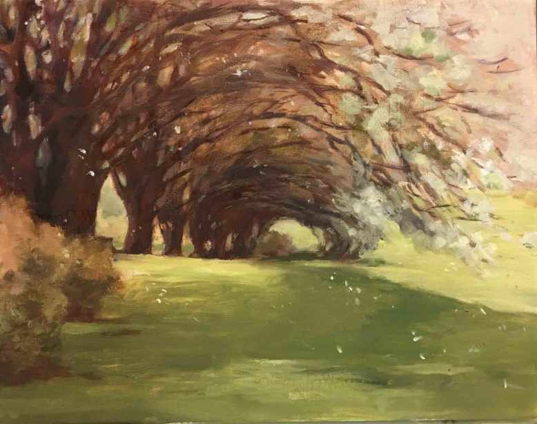 Bradford-Pear-Tree-Line,-Susan-Duke-Waters