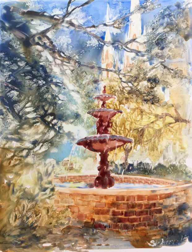 Savannah-Fountain,-Susan-Duke-Waters
