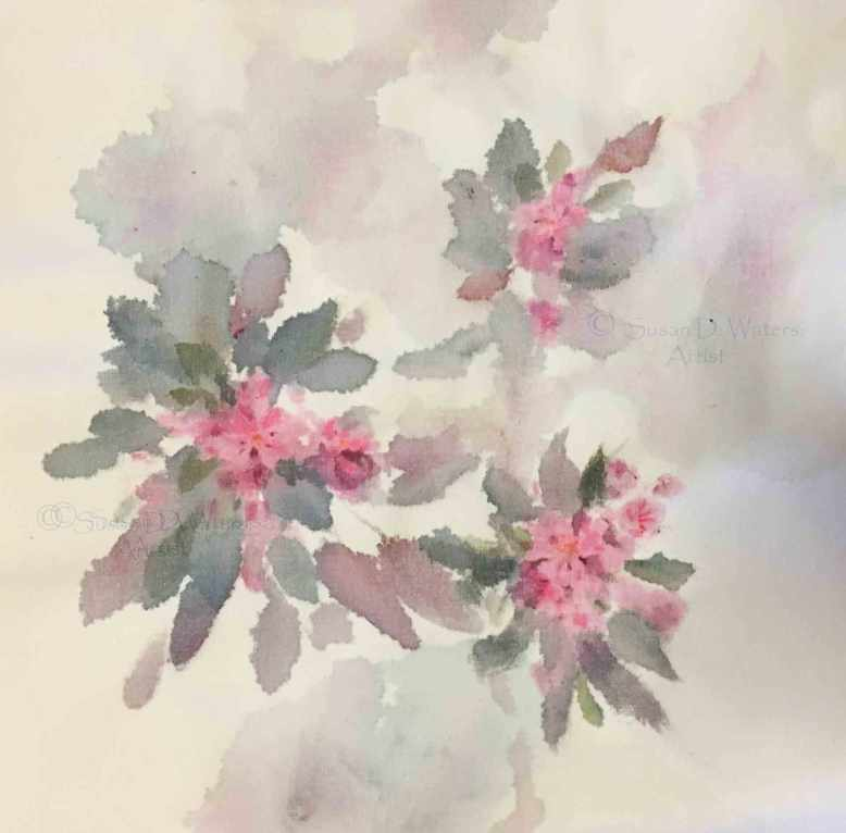 Crabapple-Blossoms-II,-Susan-Duke-Waters