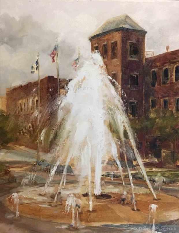 Forum-Fountain,-Susan-Duke-Waters