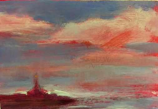 #127. Evening Sky IV
