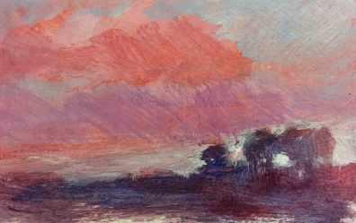 #128. Evening Sky V.