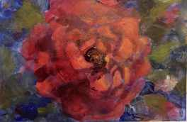 #125. Floral card