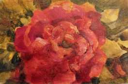 #126. Floral card II
