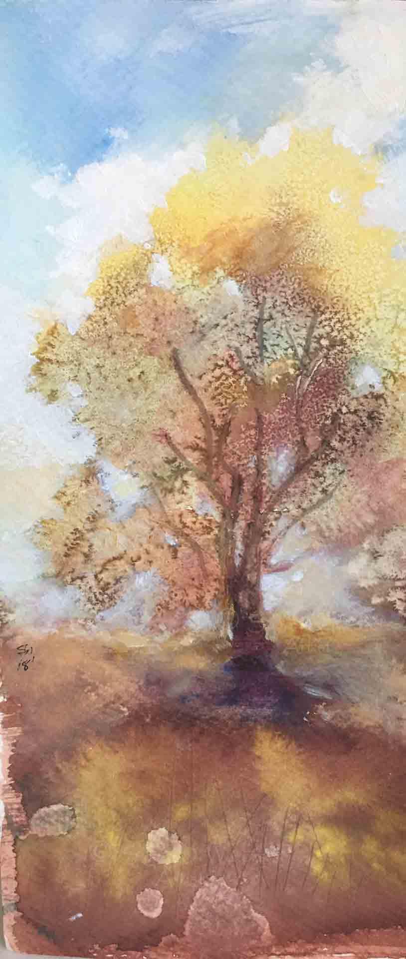 Autumn-Tree-II,-Susan-Duke-Waters