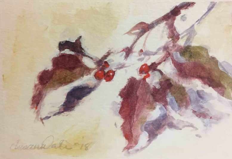 Dogwood-Berries-IV,-Susan-Duke-Waters