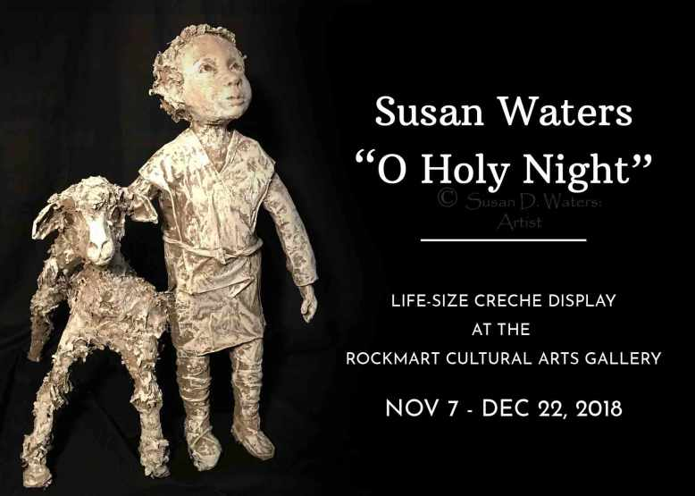 Invitation-to-O-Holy-Night-Exhibit,-Susan-Duke-Waters