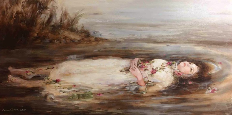 Ophelia, Susan Duke Waters