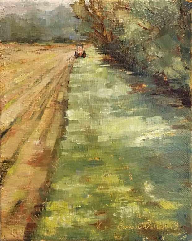 Mowing-the-Back-Field,-Susan-Duke-Waters