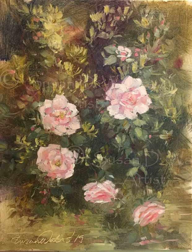 Honeysuckle-and-Roses,-Susan-Duke-Waters