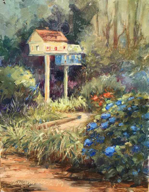 Jim's Garden, Susan Duke Waters