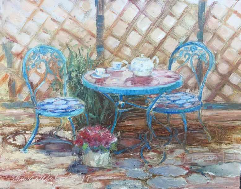 Marcia's-Teaset,-Susan-Duke-Waters