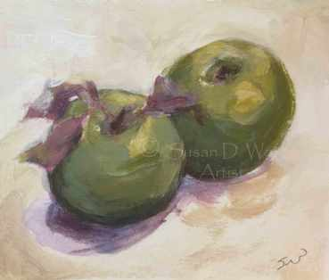 Green-Apples-II,-Susan-Duke-Waters