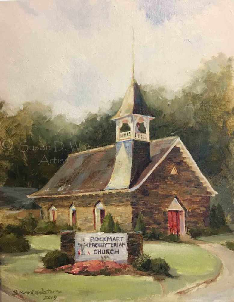 The-Rockmart-Presbyterian-Church,-Susan-Duke-Waters