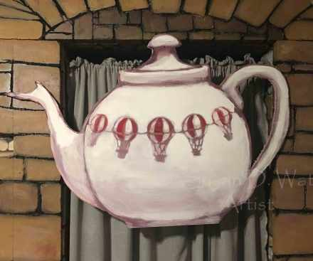 Hot-Air-Balloon-Teapot-Backdrop,-Susan-Duke-Waters