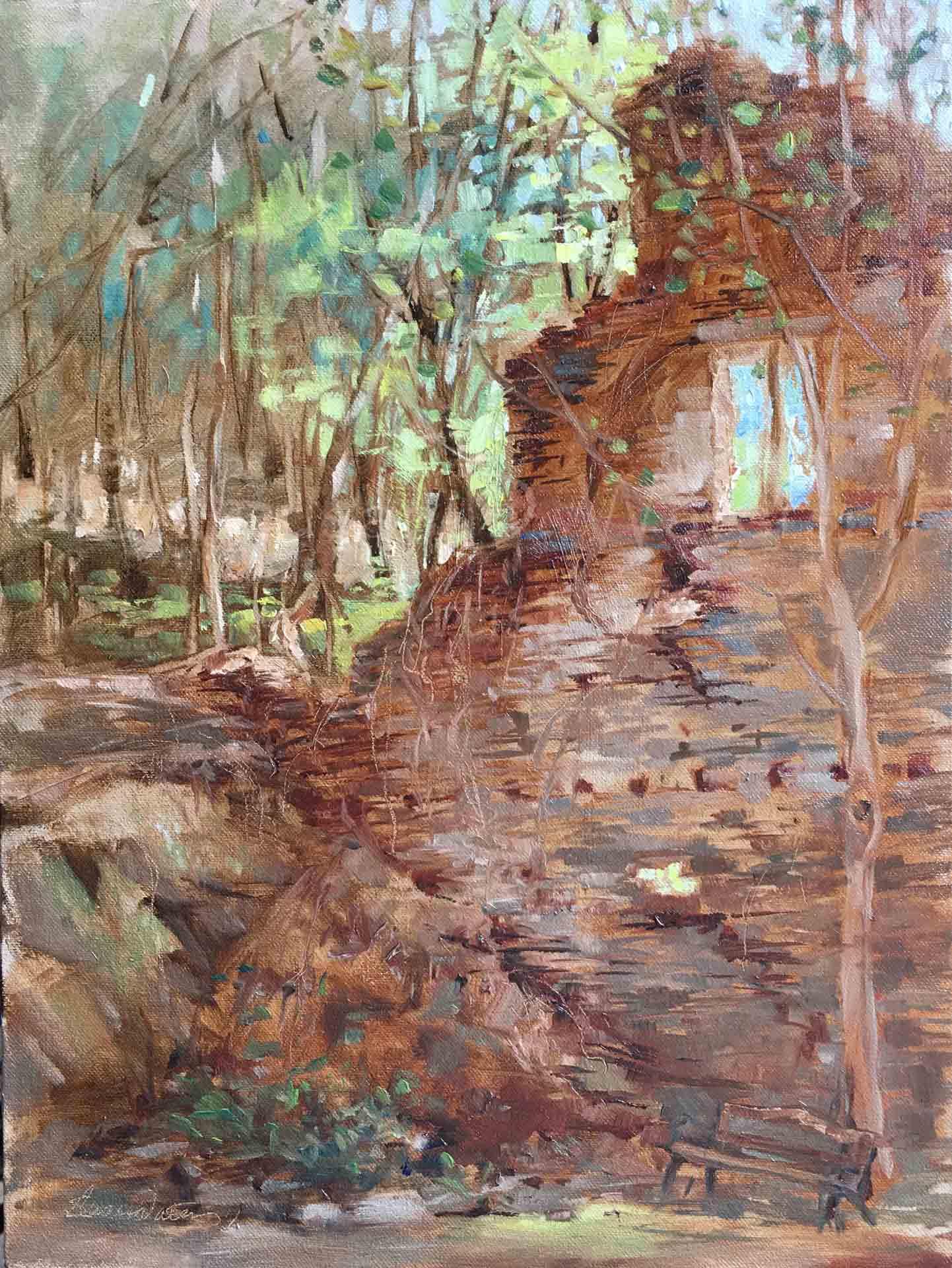 Hightower-Falls-Ruins,-Susan-Duke-Waters