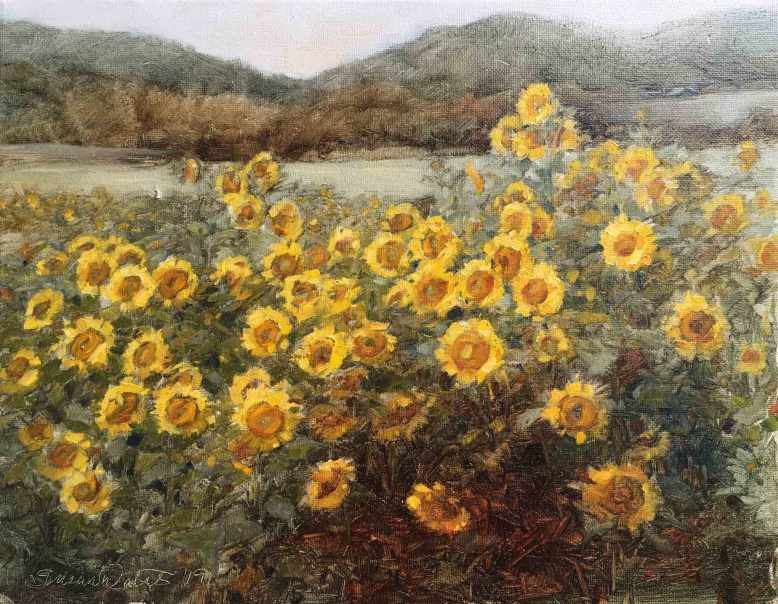 Sunflower-Field,-Susan-Duke-Waters