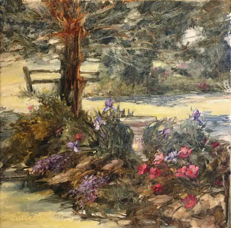 Rockery-in-Spring,-Susan-Duke-Waters