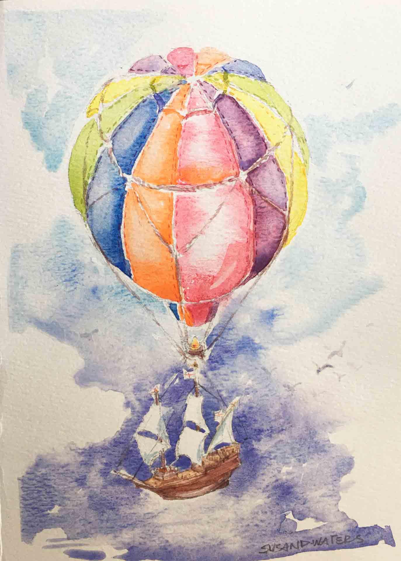 Balloon-Ship,-Susan-Duke-Waters