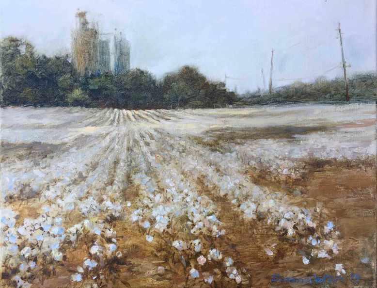 Cotton-Field-GA-Hwy-101,-a,Susan-Duke-Waters