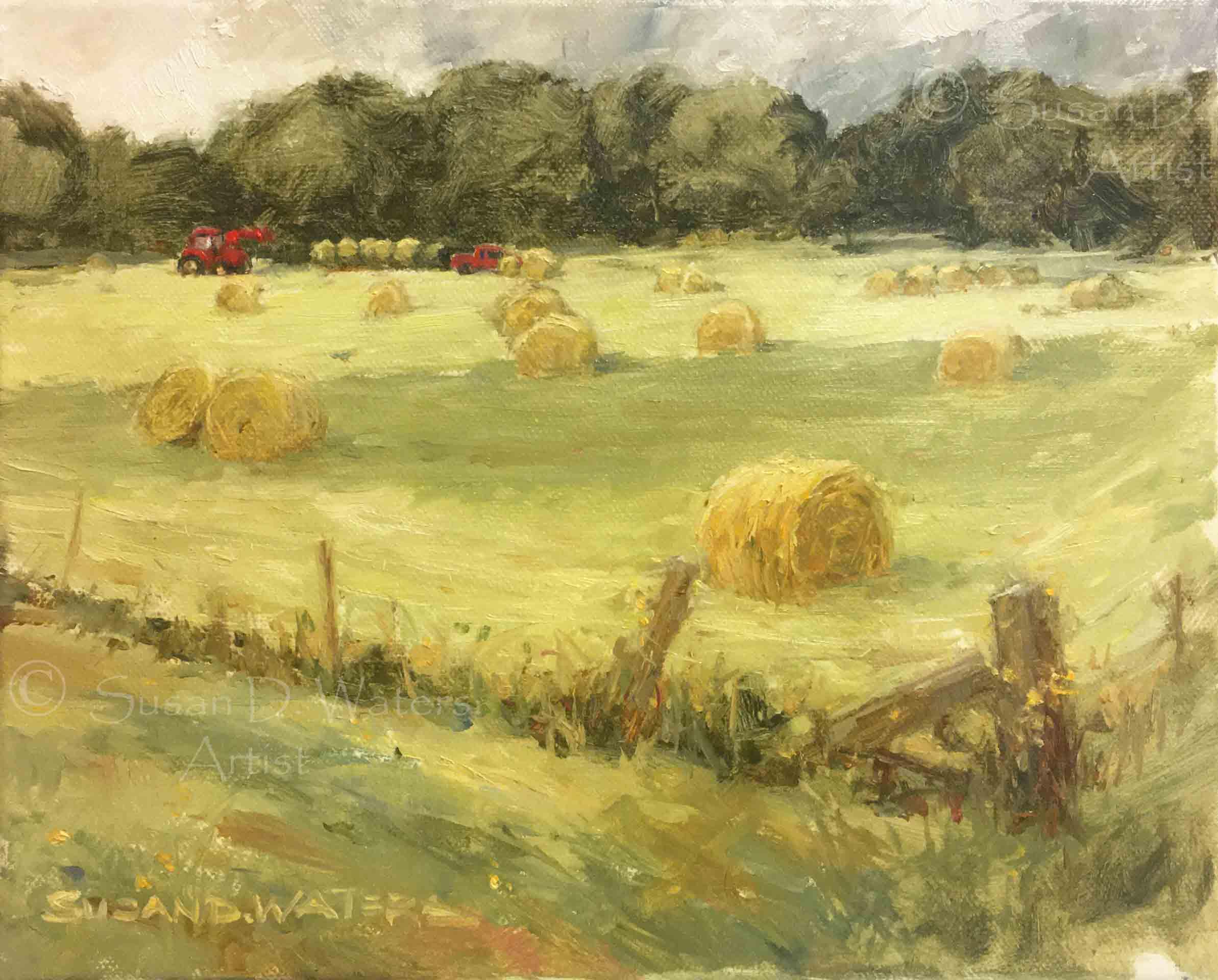 Gathering-Hay,-Susan-Duke-Waters