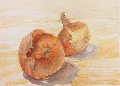 Onion Skins, I, Susan Duke Waters